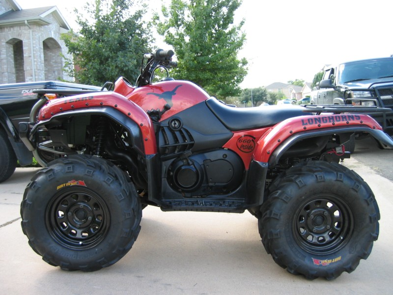 Custom Painted Yamaha Grizzly